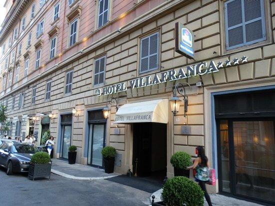 Hotel Villafranca: fachada