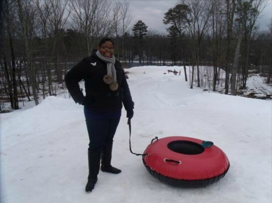 Woodloch Pines Resort: Snow Tubing