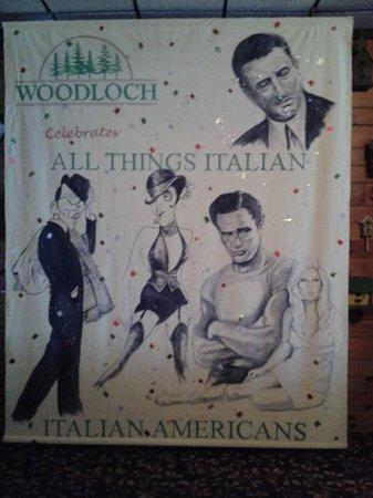 Woodloch Pines Resort: All Things Italian