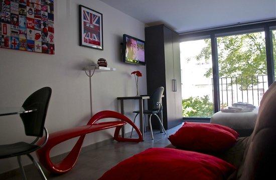 Le Patricia: Suite studio Londres
