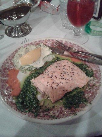 Woodloch Pines Resort: Salmon Dinner