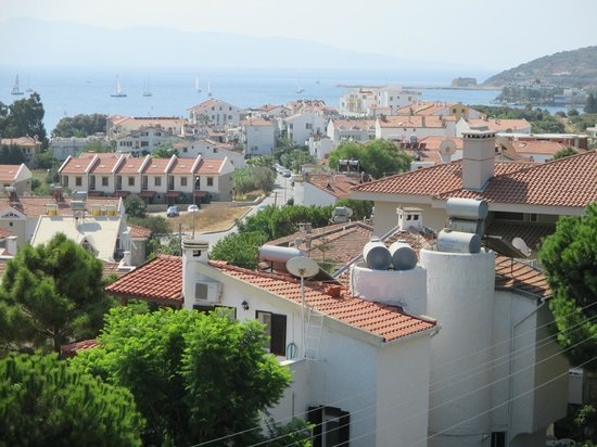 Antik Apart Hotel: Veduta dal balcone