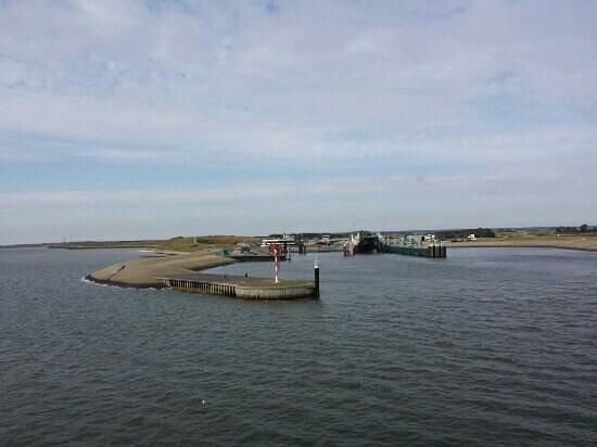 Ferienpark de Krim Texel : aankomst texel