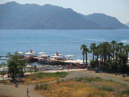 Moda Beach Hotel: Veduta dal balcone