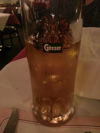 Black Forest Inn: In a German restaurant, what else to drink besides beer?
