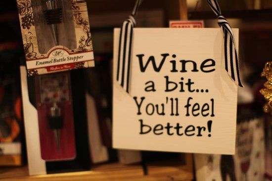 Wine A Bit Coronado: We carry an array of fun accessories and gift items!