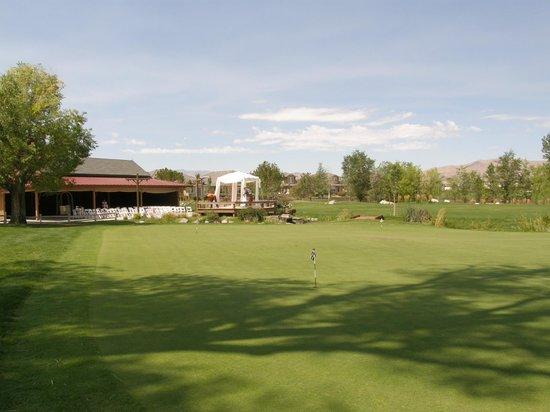 Red Hawk Golf Club: Putting green