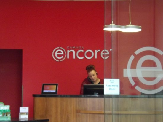 Ramada Encore Belfast City Centre : Reception