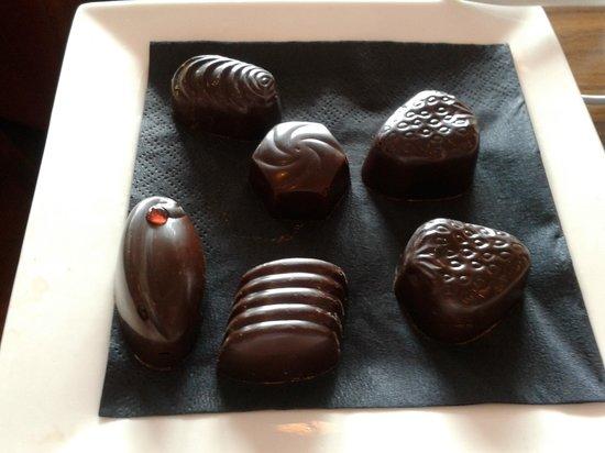 Oban Chocolate Company: Dairy free chocolates