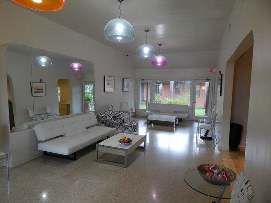 Hotel Biba: Pièce commune