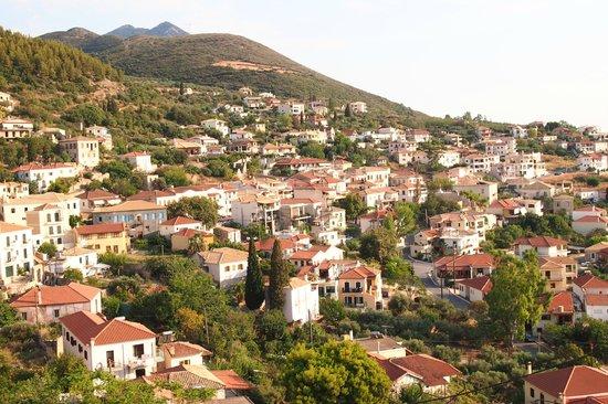Apollo Resort Art Hotel : Кипарисия (вид из крепости)