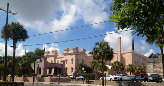 Embassy Suites by Hilton Charleston - Historic Charleston: Hotel from across the street