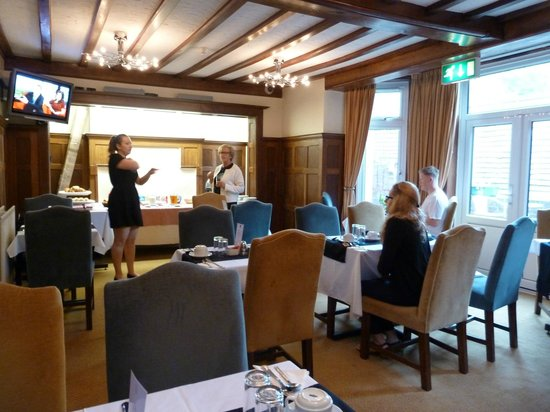 Barrington Lodge: lSalle du breakfast