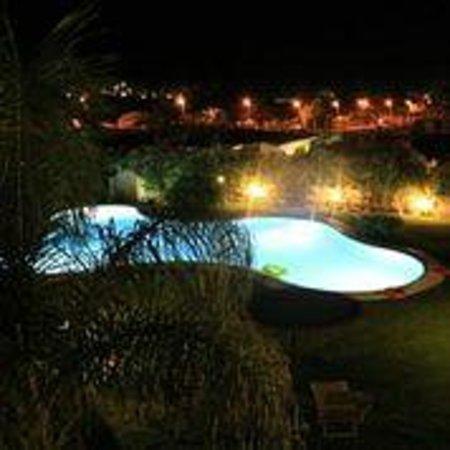 Hotel Mariposas : piscine vue de notre terrasse