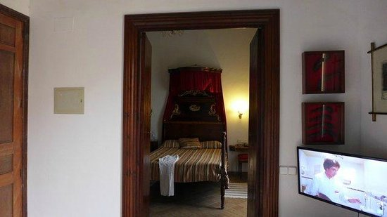 Hotel Dalt Murada: DAS Bett!