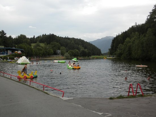 Ferienparadies Natterer See : Water playground