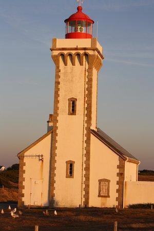 Hotel Aux Tamaris : phare des poulains