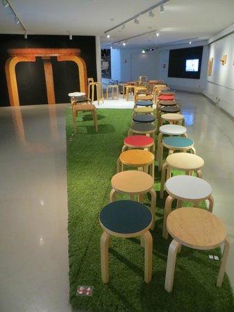 The Alvar Aalto Museum: Alvar Aalto chairs