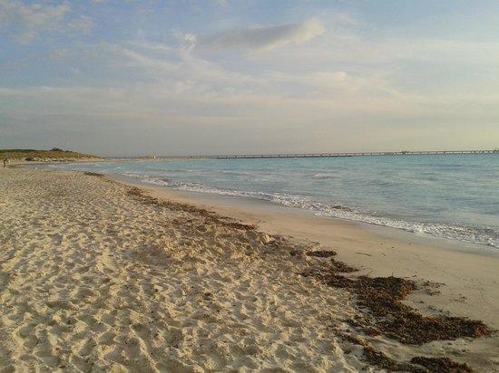 Hotel Quisisana: spiaggia bianca