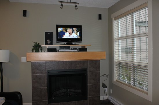 Sooke Harbour Resort and Marina : Small TV