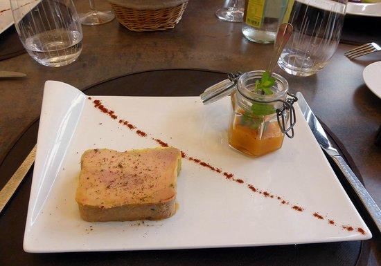 Restaurant Jean-Michel Couron: le foie gras