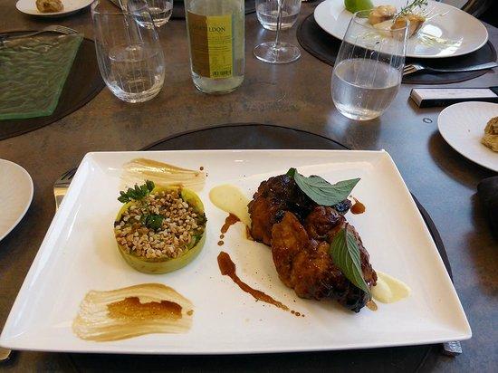 Restaurant Jean-Michel Couron: les ris de veau