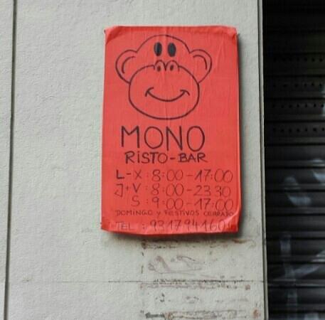 MONO Risto-Bar: opsss!