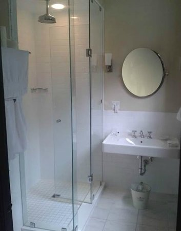 Hayes Inn: Bathroom (shower only - no tub)