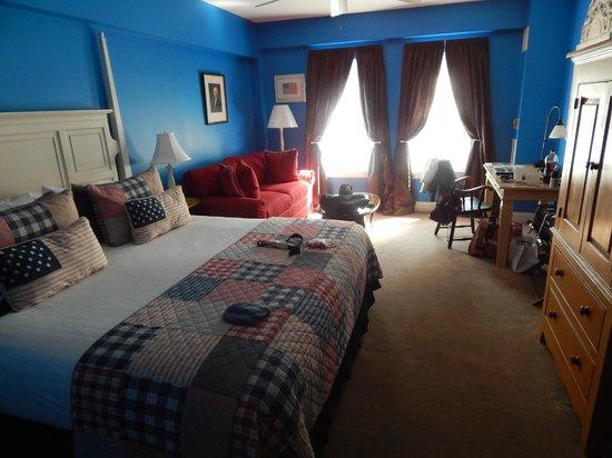 Kendall Hotel: Nuestro dormitorio