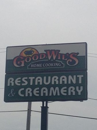 Good Will's: look for this sign to point you to good food