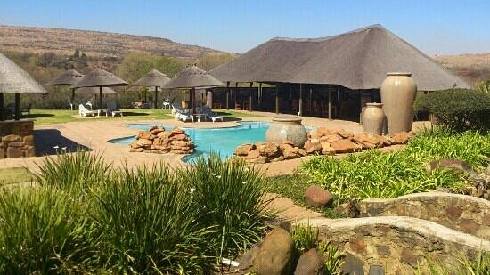 Magalies Manor: Pool area