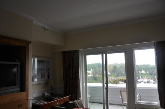 Lord Camden Inn : Room, terrace, view