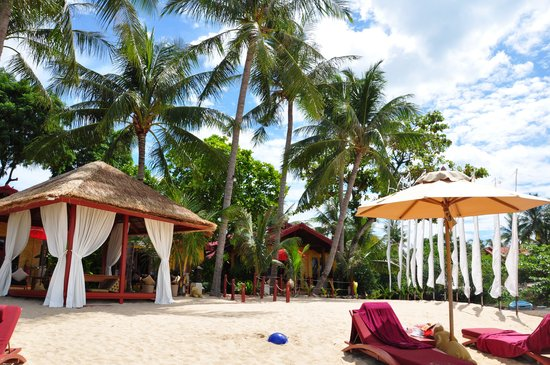 Zazen Boutique Resort & Spa: Beach