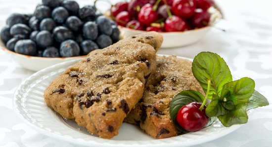 A G Thomson House Bed and Breakfast: Chocolate Chunk Scone