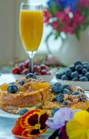 A G Thomson House Bed and Breakfast: Lemon Lavender Blueberry French Toast