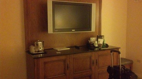 The Westin Stonebriar Hotel & Golf Club: TV - poor quality