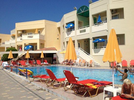 Hotel Anthimos: Hotellet