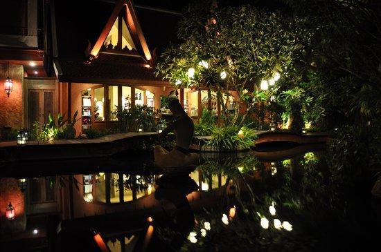 Zazen Boutique Resort & Spa: gepflegter Hotelgarten
