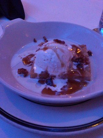 The Oceanaire Seafood Room : Bread Pudding