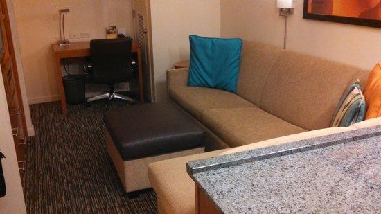 Hyatt House Salt Lake City/Sandy: TV Area