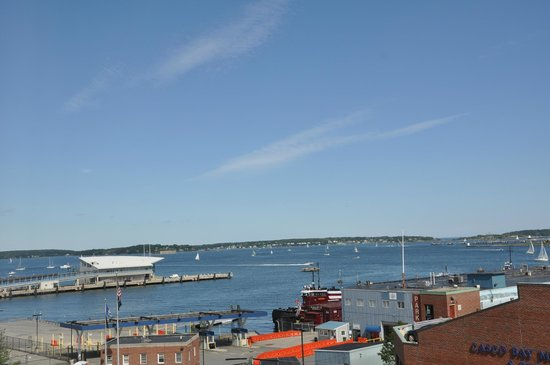 Hilton Garden Inn Portland Downtown Waterfront : Great view from room