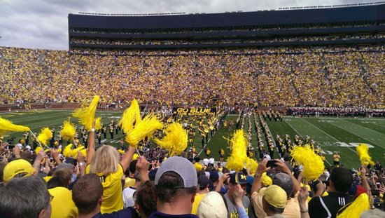 University of Michigan : Michigan Vs Michigan game 2013