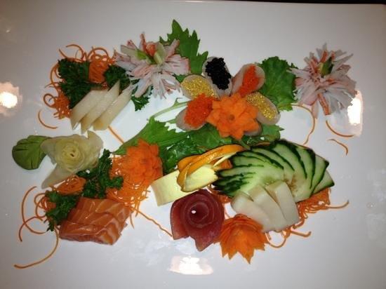 Yakitori Sushi & Grill: amazing sushi assortment
