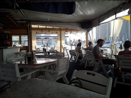 Tavern On the Bay: Outdoor Seating