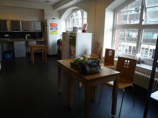 YHA Bristol : zelfservice keuken