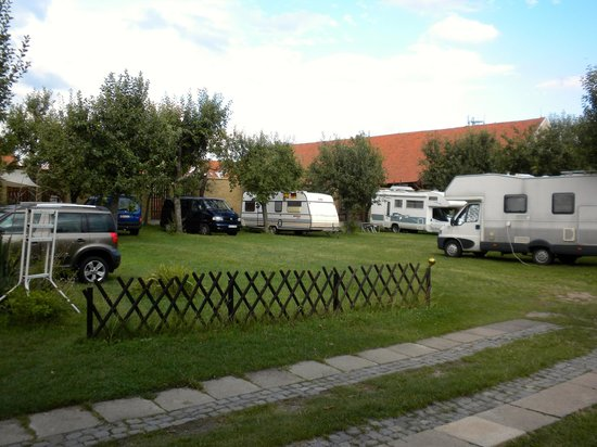 Pension Camp Prager: The largest section of the site