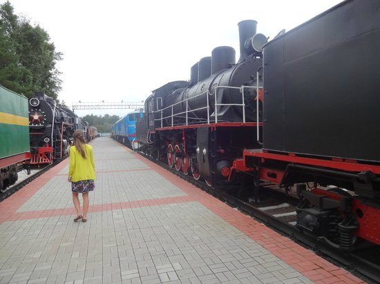 West Siberian Railway History Museum: trains