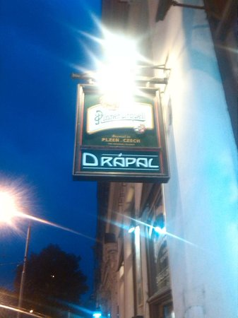 Original Restaurant Drapal: Pub sign