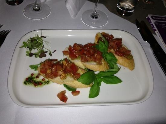Restauracja Przystan: bruschetta