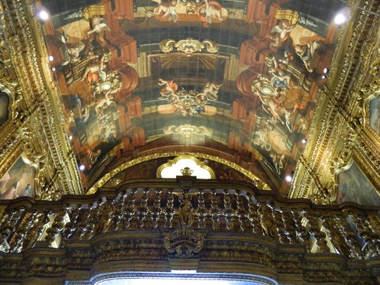 Sao Francisco da Penitencia Church : plafond
